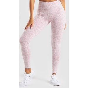 Gymshark pink fluer leggings